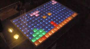 arduino powered led matrix coffee table u2013 brads electronic projects