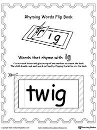 ig word family workbook for kindergarten myteachingstation com