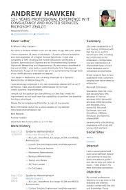 systems administrator resume samples visualcv resume samples