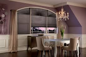furniture white arch window with blind combined wall painted in