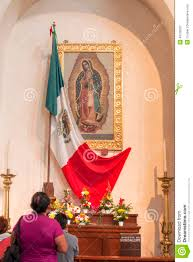 Guadalupe Flag Our Lady Of Guadalupe Editorial Photography Image Of Catholic