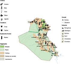 iraq map vector iraq economic map our cartographers made iraq economic map