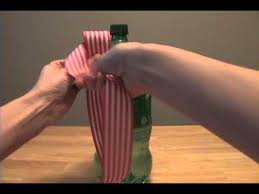 wine bottle bows how to tie a christmas bow with ribbon