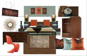 moodboard monday retro hotel room the home interiors partner