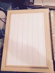 Beadboard Kitchen Cabinet Doors Smooth Faced Kitchen Cabinet Doors Hometalk