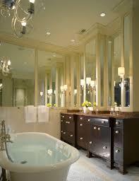 opulent design ideas mirrored bathroom walls wall mirror images