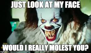 Pennywise The Clown Meme - pennywise 2017 imgflip
