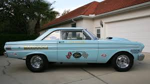 peach car 1964 ford falcon a fx replica s319 indy 2012