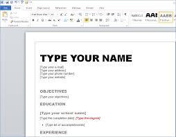 resume template for word 2010 resume template word 2010 artemushka