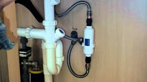 how to install an in line water filter to cold water supplying