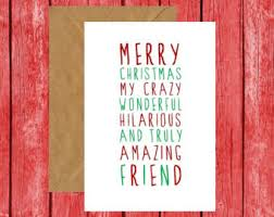 funny christmas card merry christmas slay card