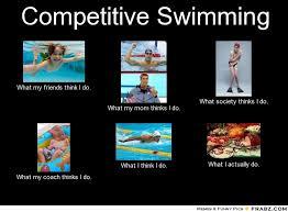 Competitive Swimming Memes - swimming humor underwater audio