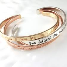 Personalized Bangles Personalized Bracelets Archives Woobie Beans