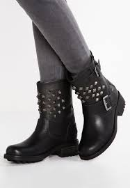 cheap black biker boots bullboxer cowboy biker boots black women clearance prices