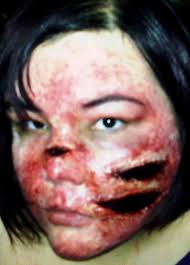 latex for halloween makeup werewolf scratch turorial liquid latex fashions