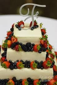 b 98 wedding cake with fruit photograph wedding cake with fruit