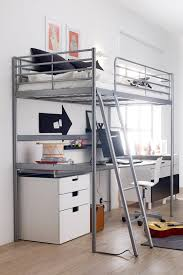 Modern Bunk Bed With Desk 11 Size Modern Loft Beds For Adults Apartment Therapy