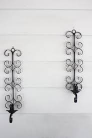 Sconces Decor Lighting Black Iron Wall Sconces Decor And Lighting Ideas