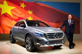 mercedes benz ceo mercedes benz pushes ahead with development of china sales