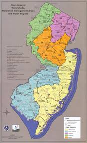 Map Of Middlesex County Nj New Jersey Watershed Management Areas Raritan Rutgers Edu