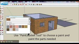 Home Design Using Sketchup by Google Sketchup Tutorial Basics How To Build A Simple House Door