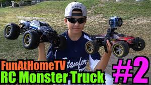 rc monster trucks videos remote monster truck videos with monkey boy u sewer rc adventures