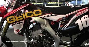 works motocross bikes inside the pro u0027s bikes featuring zach osborne u0027s factory geico