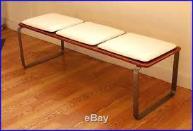 century modern bench eames era retro vintage