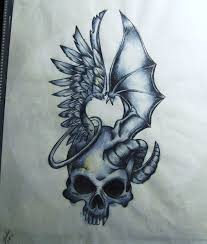 9 best evil tattoo drawings images on pinterest good and evil