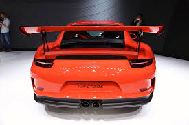 porsche gt3 rs orange 2016 porsche 911 gt3 rs revealed at geneva powered by 4 0l flat