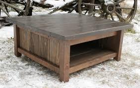 furniture tree trunk coffee table diy rustic wood screws