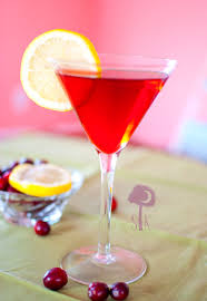 martini apple candy apple cosmopolitan
