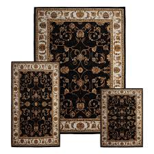 Ebay Antique Persian Rugs by Traditional Medallion Persian 3 Pcs Area Rug Oriental Bordered