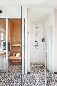 Bathroom Tile Black And White - 158 best tile images on pinterest bathroom ideas master