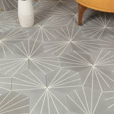 light grey hexagon tile marockanskt kakel hexagon zagora light grey 20x23 2 4 tile