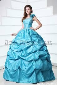 best quinceanera dresses modest one shoulder blue best quinceanera dress 1st dress
