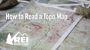 how to read topographic maps how to read a topo map