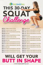 Challenge How Does It Work This 30 Day Squat Challenge Will Get Your In Shape