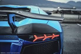 Blue Lamborghini Aventador - chrome blue lamborghini aventador taillight sssupersports