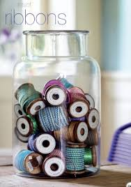 spools of ribbon 97 ways to store your ribbon live simply by