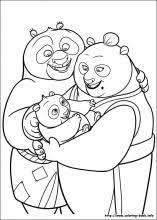 kung fu panda 3 printable coloring pages activity sheets