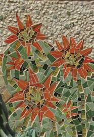 Best Cactus Mosaic Images On Pinterest Flowers Cactus Art - Wall mosaic designs