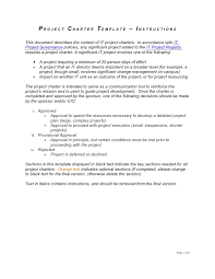 project charter template download