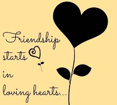 friendship heart friendship starts in loving heart friendship quotes graphics99