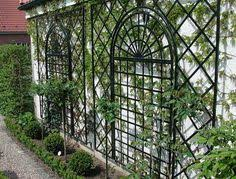 Ideas For Metal Garden Trellis Design Steel Wall Trellis Outdoors Garden Pinterest Wall