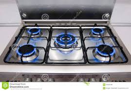 kitchen gas flames stock image image of burners cooking 15321607