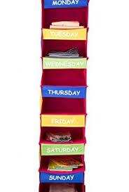 saganizer daily activity organizer kids 7 shelf portable closet