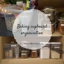 baking cupboard organisationand then she said