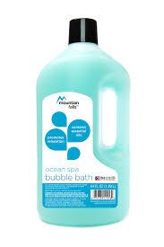 amazon com mountain falls bubble bath ocean spa 64 fluid ounce