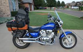 honda magna honda motorcycle luggage customer photo gallery